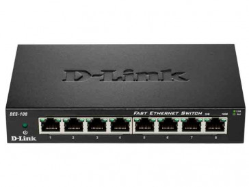 SWITCH ETHERNET DES-108 D-LINK