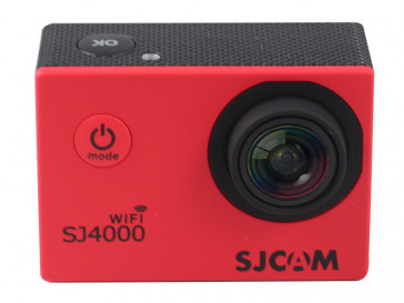 CAMARA VIDEO SJ4000 WIFI ROJA SJCAM
