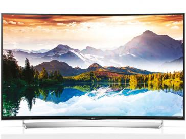 """SMART TV LED ULTRA HD 4K 3D CURVO 55"""" LG 55UG870V"""