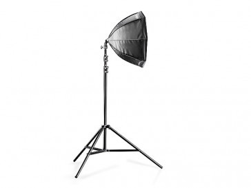 SET DAYLIGHT 250 + SOFTBOX OCTOGONAL 55CM 16300 WALIMEX