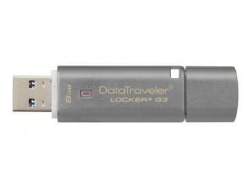 DATA TRAVELER LOCKER+ G3 8GB (DTLPG3/8GB) KINGSTON