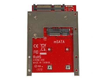"""ADAPTADOR CONVERSOR DE SSD MSATA A SATA 2.5"""" (SAT32MSAT257) STARTECH"""