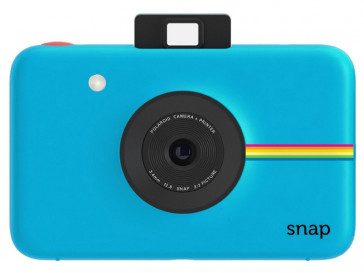 CAMARA INSTANTANEA POLAROID SNAP (BL) + ESTUCHE + PACK 20 PAPEL