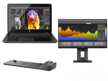 "KIT ZBOOK 14 G2 (J8Z79EA) + ULTRASLIM DOCK 2013 (D9Y32AA#ABB) + MONITOR 23"" (M2J79A4) HP"