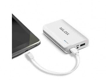 POWER BANK 6000MAH NXPB6000W (W) NILOX