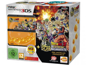 CONSOLA NEW 3DS HW NEGRA+ DRAGON BALL PACK NINTENDO