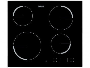 PLACA VITROCERAMICA ZANUSSI ZEV-6340FBA 59CM 4 ZONAS DE COCCION SIN MARCO