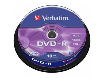 DVD+R MATT SILVER 43498 VERBATIM