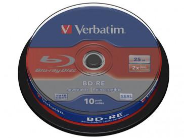 BD-RE SL 25GB 2X 10 UND 43694 VERBATIM