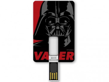 PENDRIVE ICONICCARD DARTH VADER 8GB SILVER HT