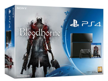 CONSOLA PS4 + THE BLOODBORNE SONY
