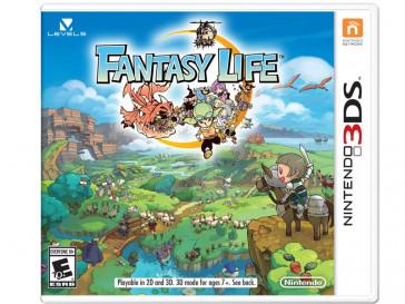 JUEGO 3DS FANTASY LIFE NINTENDO