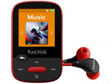MP3 CLIP SPORT 4GB (SDMX24-004G-G46R) SANDISK
