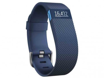PULSERA ELECTRONICA CHARGE HR AZUL GRANDE FITBIT