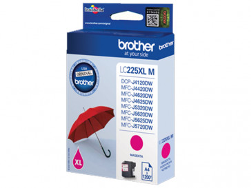 CARTUCHO TINTA MAGENTA LC225XLMBP BROTHER