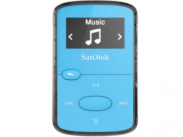 MP3 CLIP JAM 8GB AZUL (SDMX26-008G-G46B) SANDISK