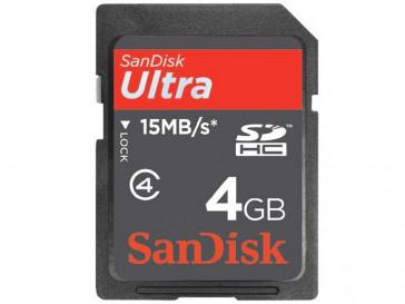 SDHC 4GB ULTRA (SDSDH-004G-U46) SANDISK
