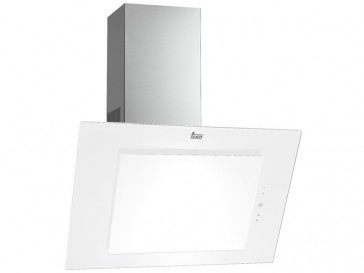 CAMPANA TEKA DECORATIVA VERTICAL 90CM BLANCA LED DVT-985 40483572