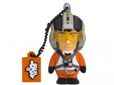 PENDRIVE 16GB X-WING PILOT SILVER HT