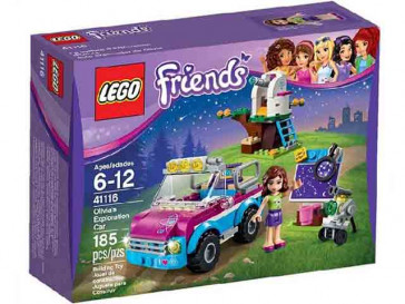 FRIENDS COCHE DE EXPLORADORA DE OLIVIA 41116 LEGO