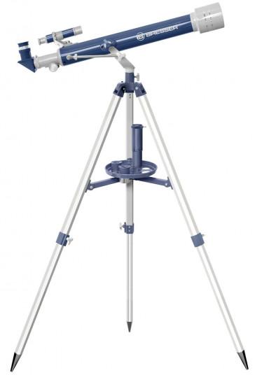TELESCOPIO REFRACTOR JUNIOR 60/700 AZUL/GRIS BRESSER