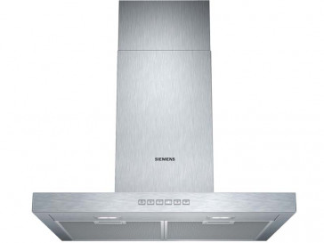 CAMPANA SIEMENS DECORATIVA PARED 60CM ACERO LED LC67BC532
