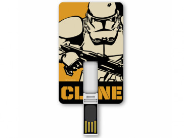PENDRIVE ICONICCARD CLONETROOPER 8GB SILVER HT