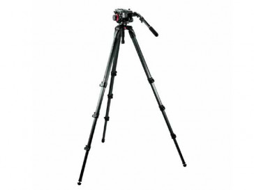 KIT VIDEO MPRO + ROTULA 504HD,535K MANFROTTO