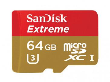 EXTREME MICRO SDXC 64GB CON ADAPTADOR (SDSQXNE-064G-GN6MA) SANDISK
