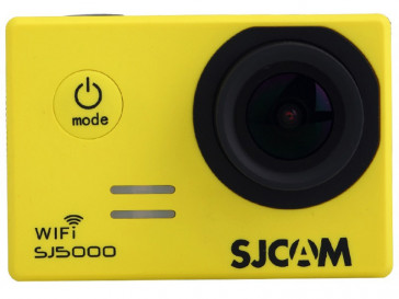 CAMARA VIDEO SJ5000 WIFI AMARILLA SJCAM