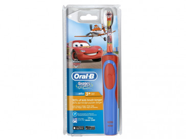 ORAL-B STAGES POWER CARS-AVIONES CLS 128458 BRAUN