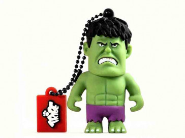 PENDRIVE TRIBE MARVEL HULK 16GB SILVER HT