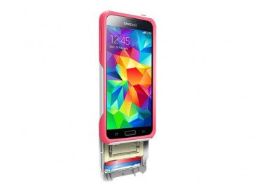 FUNDA COMMUTER GALAXY S5 NEON ROSE OTTERBOX