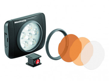 LED LUMIE ART NEGRO MANFROTTO