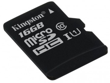 MICRO SDHC 16GB CLASE 10 UHS-I (SDC10G2/16GBSP) KINGSTON