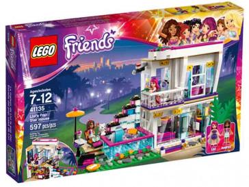 FRIENDS POP STAR: CASA DE LIVI 41135 LEGO