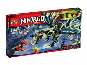 NINJAGO EL ATAQUE DEL DRAGON DE MORRO 70736 LEGO