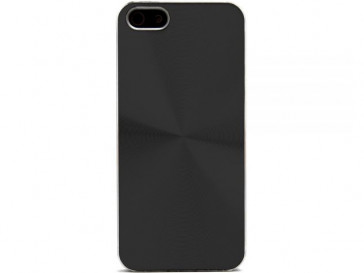 FUNDA ALUMINIO IPHONE 5 NEGRA