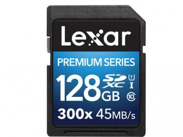 SDXC 128GB 300X PREMIUM USH-I LSD128BBEU300 LEXAR