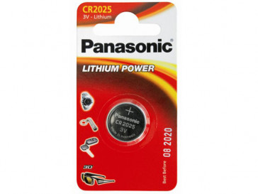 PILAS 1X100 CR2025 PANASONIC