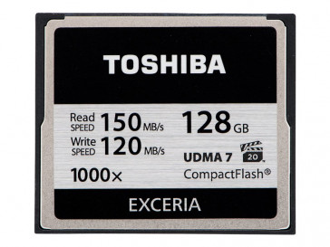 EXCERIA 128GB (CF-128GTGI(8) TOSHIBA