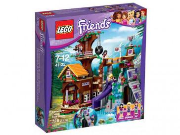 FRIENDS CAMPAMENTO DE AVENTURA: CASA EN EL ARBOL 41122 LEGO