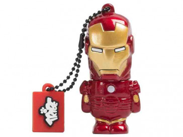 PENDRIVE TRIBE IRONMAN 16GB SILVER HT