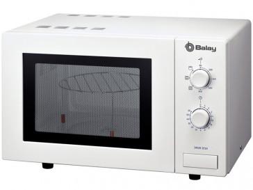 MICROONDAS LIBRE INSTALACION BALAY 18L 800W BLANCO CON GRILL 3WGB2018