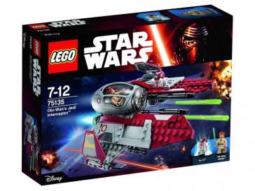 STAR WARS OBI-WAN'S JEDI INTERCEPTOR 75135 LEGO