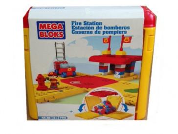 ESTACION DE BOMBEROS 40 PZAS +3A MEGABLOKS