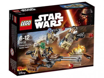 STAR WARS PACK DE COMBATE REBELDE 75133 LEGO