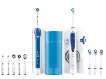 ORAL-B CENTER OXYJET ORAL IRRIGADOR + PRO 5000 SMART BRAUN