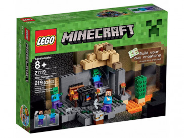 MINECRAFT LA MAZMORRA 21119 LEGO