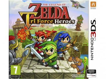 JUEGO 3DS THE LEGEND OF ZELDA: TRI FORCE HEROES NINTENDO